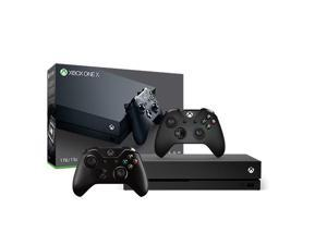 Xbox One X 1TB Console with Extra Xbox Wireless Controller - Black