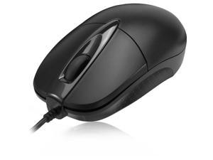 7d45fea5cc7 ADESSO iMouseM6 Black 3 Buttons 1 x Wheel USB Wired Optical Mouse