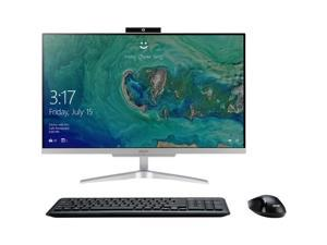 "Acer All-in-One Computer Aspire C24-865-UR12 Intel Core i5 8th Gen 8250U (1.60 GHz) 8 GB DDR4 1 TB HDD 23.8"" Windows 10 Home 64-bit"