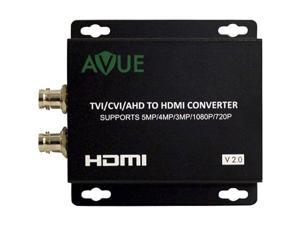 Avue TVH-L11 - TVI/CVI/AHD to HDMI Converter - Functions: Signal Conversion, Video Scaling - 1920 x 1080 - Mountable