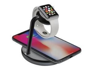 Kanex K118-1138-QI GoPower Watch Stand with Wireless Charging Base for Apple Watch + iPhone