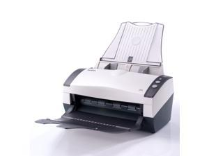 Avision AV210C2 Color Simplex Document Scanner. 35ppm, 3,000 recommended daily duty cycle. Simple easy to use for scanning and saving into PDF, JPEG, etc.