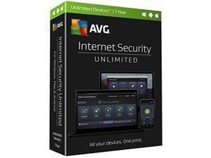 Avg Internet Security Unlimited 1 Year
