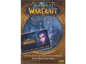 ACTIVISION BLIZZARD INC ACT#72305 WOW Prepaid Timecard PC
