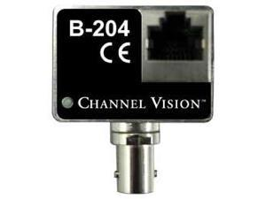Channel Vision IP Camera Balun Over Coax Converter Kit (B-204)