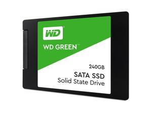 "WD Green 240GB PC SSD - SATA III 6Gb/s 2.5""/7mm Solid State Drive - WDS240G2G0A"