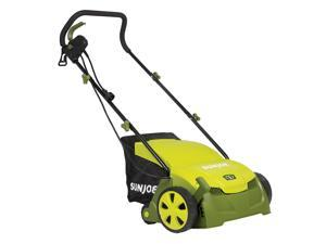 Sun Joe AJ801E Electric Lawn Dethatcher w/ Collection Bag | 13 inch | 12 Amp | Scarifier