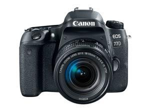 Canon EOS 77D DSLR Camera with EF-S 18-55mm IS STM Lens