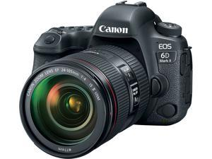 Canon EOS 6D 26.2MP Full HD 1080p Digital SLR Camera with 24-105mm Lens