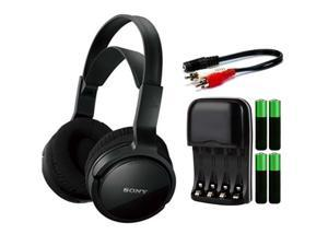 Sony MDRRF912RK Wireless Home Theater Headphones Bundle
