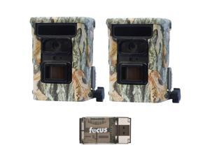 Browning Defender 940 20MP Trail Game Camera (Camo, 2) and Focus Reader