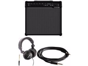 Line 6 Spider V 120 1x12 Full-range Guitar Amplifier with Headphones and Cable