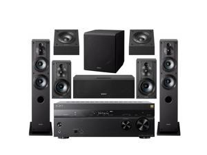 Sony 7.2 Dolby Atmos Wi-Fi Network AV Home Theater Receiver speaker bundle