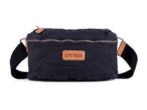 19be93312e Gootium 60405BLK Crossbody Sling Bag - Canvas Chest Backpack Vintage Fanny  Pack · Gootium Bags
