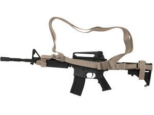 Voodoo Tactical 3 Point Adjustable Black Rifle Sling