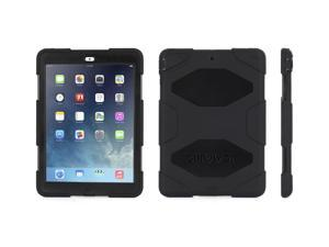 iPad Air Rugged Case, Survivor All-Terrain Protective Case plus Stand, Black,Military-Duty Case- Direct from Griffin