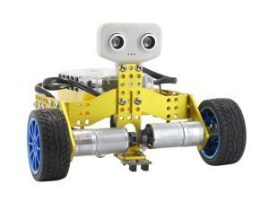 Tenergy Odev Tomo 2-in-1 Transformable DIY Programmable Robot Kit - STEM Education - Learn About Coding, Robotics and Electronics, Bluetooth Connection & App Control