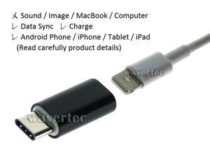 USB C to Lightning Female Adapter Type C Male Apple Female Apple to Samsung OEM