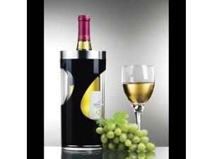 Prodyne A903b Black Wine Cooler Two Tone Iceless Swirl Design