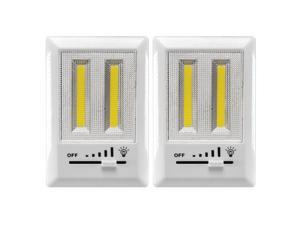 Powerglow Dimmable COB LED Lights 200 Lumens Bright Mount Anywhere 2 Pk.- 240059