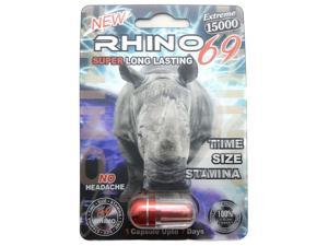 Rhino 69 Extreme 15000 Male Sexual Performance Enhancer (Pack of 20)