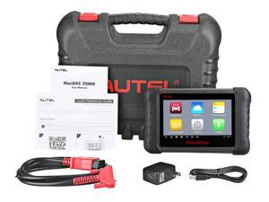 Autel Maxidas DS808 Full System Coding Scanner (Advanced Version of DS708) Automotive OBD2 Scanner Diagnostic Tool with Key Coding and Multi-language System (Same Function as MS906)