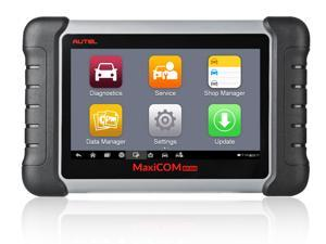 Autel MaxiCOM MK808 ( MX808 ) Full System Diagnostic Tool Automotive Scanner IMMO/EPB/SAS/BMS/TPMS/DPF/Oil Service Reset Code Reader 7 inch Touchscreen Android Tablet With Free Update Online
