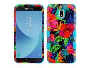 AMZER Samsung Galaxy J7 2018 Case Rubberized TUFF Hybrid Heavy Duty Shockproof Phone Protector Case Cover