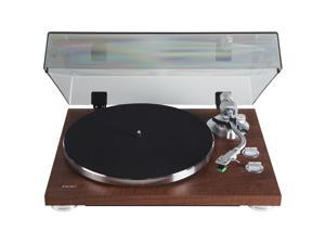 Teac TN-350-WA Walnut 2-Speed Belt Drive Analog Turntable w/ USB Digital Output