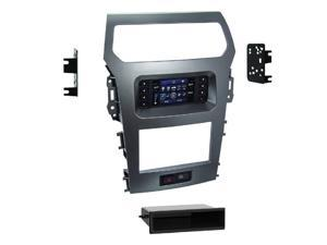 "Metra 99-5847CH 1-2DIN Dash Kit for Ford Explorer 2011-2015(W/factory 4.2"" screen)"