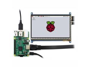 7 inch Capacitive Touch Screen LCD 1024*600 HDMI with Bicolor Case for Raspberry Pi/BB BLACK/PC Systems