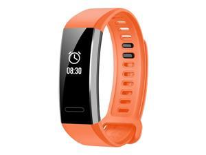 Huawei Band 2 Pro GPS Smart Bracelet PMOLED Sport Tracker With GPS Heart Rate Monitor Fitness Bracelet Compatible with iOS Android - Orange
