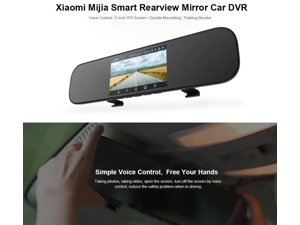 4.3 Hd Video Dual Lens Dvr Led Camera Rearview Mirror Car 1080p Driving Recorder To Help Digest Greasy Food Consumer Electronics