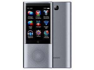 boeleo W1 AI Touch Control Voice Translator 45 Languages 2.4G + 5G WiFi BT4.0 4G SIM 1300 Pixel- PLATINUM