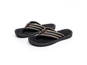 19c8021c0 Aerusi Primo Men s Classic Woven Fabric Flip-Flop Sandals ...
