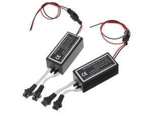 2X Spare Inverter Ballast for CCFL Angel Eyes Halo Rings Kit 4-outputs 12V