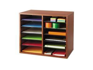 Safco Wood Adjustable Organizer - SAF9420CY