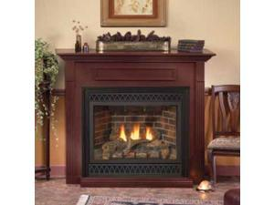 """Deluxe 36"""" Direct-Vent Fireplace DVD36FP30N - Natural Gas"""