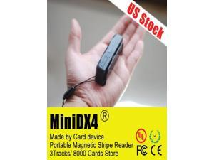 Portable Mini 400 DX4 Magnetic Stripe Card Reader Magstripe Credit/Debit MiniDX4 data collector