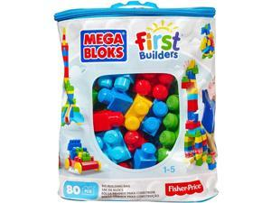 Mega Bloks Big Building Bag, 80-Piece Classic