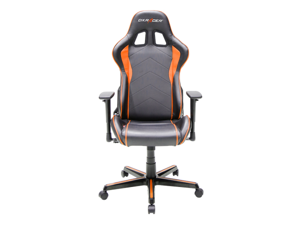 DXRacer Formula Series OH/FH08/NO Newedge Edition Racing Bucket Seat Office Chair Pc Gaming Chair Computer Chair Vinyl Desk Chair With Pillows
