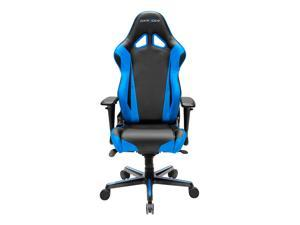 DXRacer Racing Series OH/RV001/NB Newedge Edition Gaming Chair - PVC Ergonomic With Pillows
