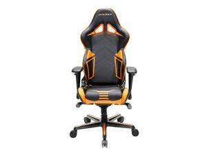 DXRacer Racing Series OH/RV131/NO Newedge Edition Racing Bucket Seat Office Chair Gaming Chair PVC Ergonomic Computer Chair eSports Desk Chair Executive Chair With Pillows