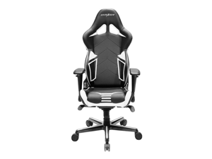 DXRacer Racing Series OH/RV131/NW Newedge Edition Racing Bucket Seat Office Chair Gaming Chair PVC Ergonomic Computer Chair eSports Desk Chair Executive Chair With Pillows