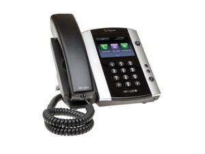 POLYCOM Microsoft Skype for Business/Lync Edition VVX 501 12-Line Desktop Phone with HD Voice, Part# 2200-48500-019