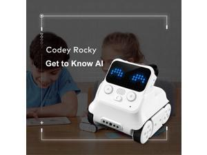 Makeblock Codey Rocky Smart Robot, STEM Educational, Entry-level Programming Toys for 6yrs+