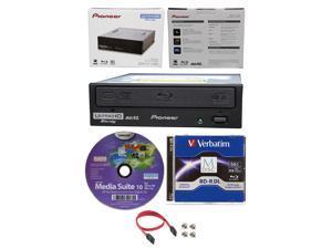 Pioneer 16x BDR-211UBK Internal Ultra HD UHD 4K Blu-ray Burner Drive+50GB M-Disc