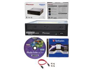 Pioneer 16x BDR-211UBK Internal Ultra HD UHD 4K Blu-ray Writer+100GB BDXL M-Disc