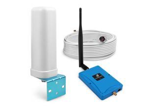 72dB 1900MHz Band 2 Cell Phone Signal Booster Amplifier Boost Voice and Data for Home Office