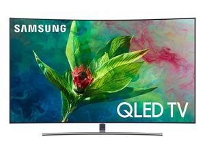 "Samsung QN55Q7CNAFXZA 55"" QLED Curved 4K UHD Q HDR Elite Smart TV (2018)"